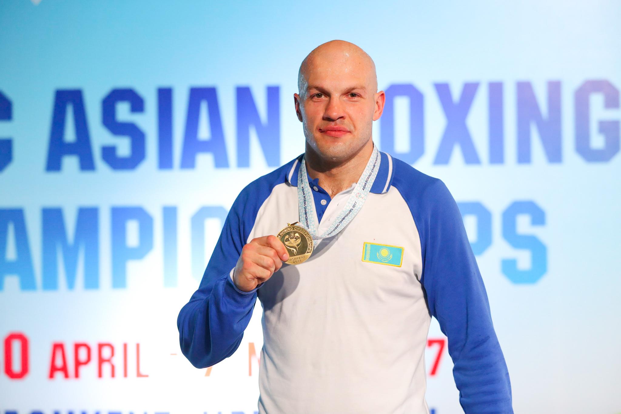 Василий Левит: «Для меня каждая медаль чемпионата Азии дорога по-своему»
