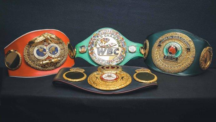 Чемпионские пояса GGG можно увидеть в Библиотеке Елбасы