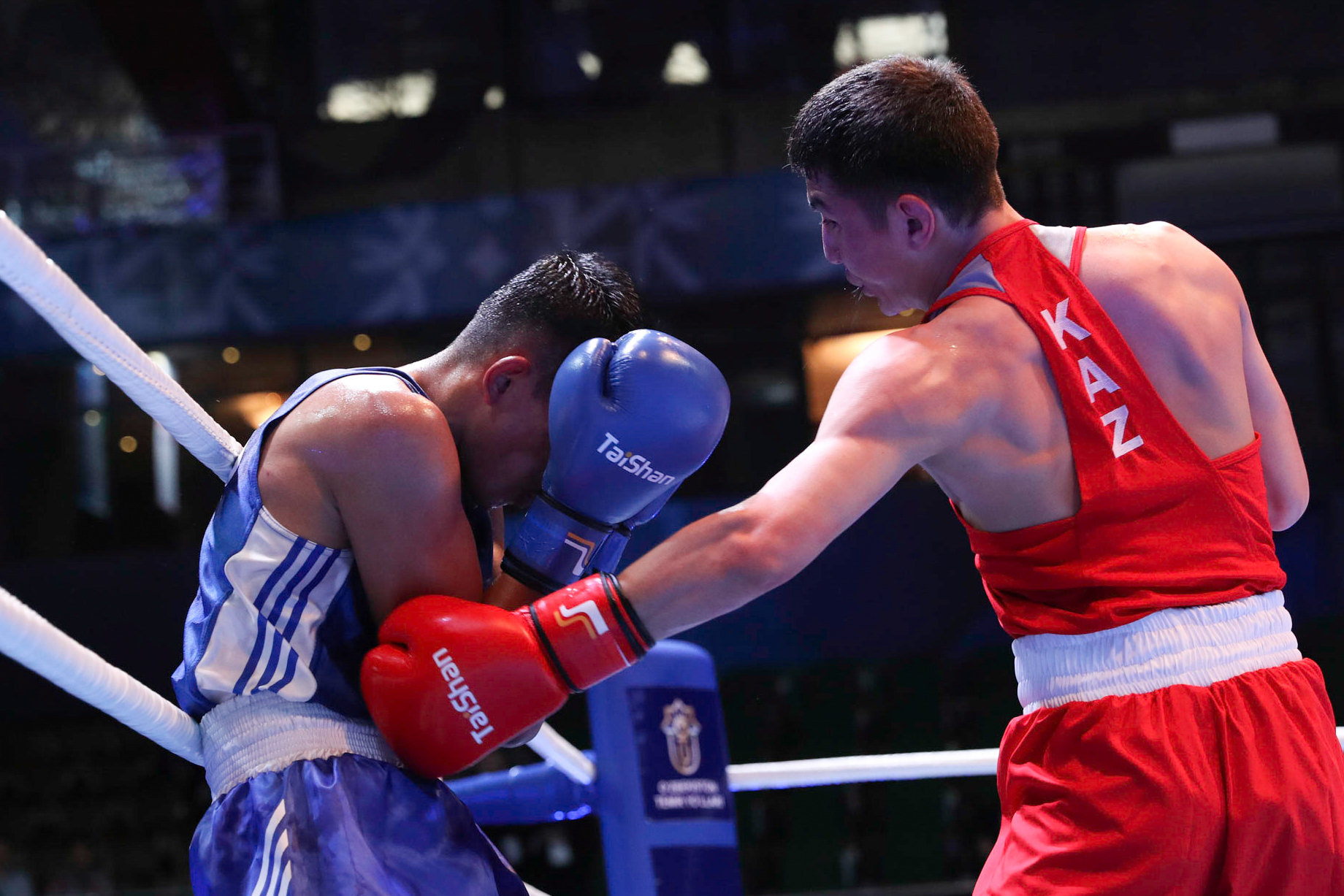 Adilet Kurmetov: «I have given a little chance to the boxer from Malaysia»