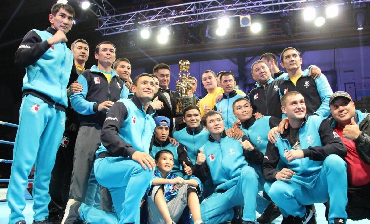 Боксеры «Астана Арланс» разгромили «Бритиш Лайнхартс» во втором полуфинале WSB