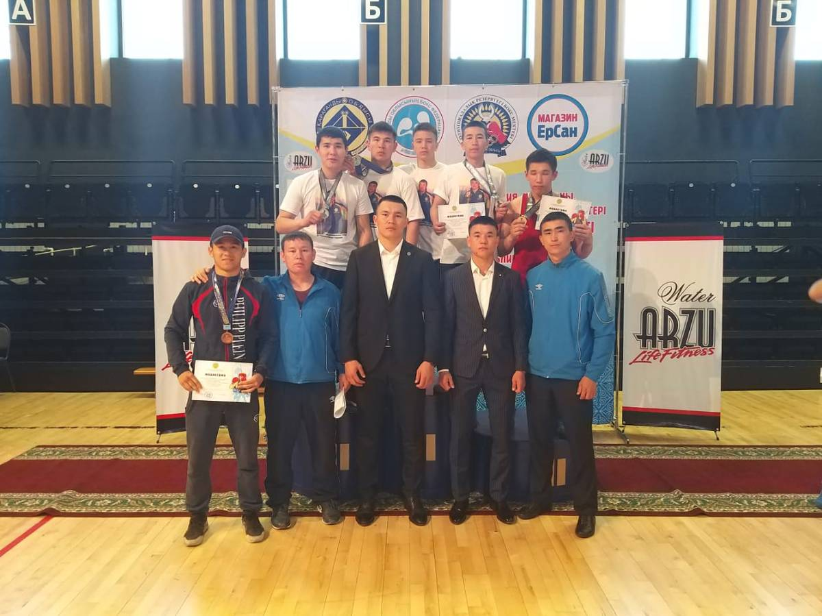 Боксеры из Мангистау завоевали полный комплект медалей на республиканском турнире