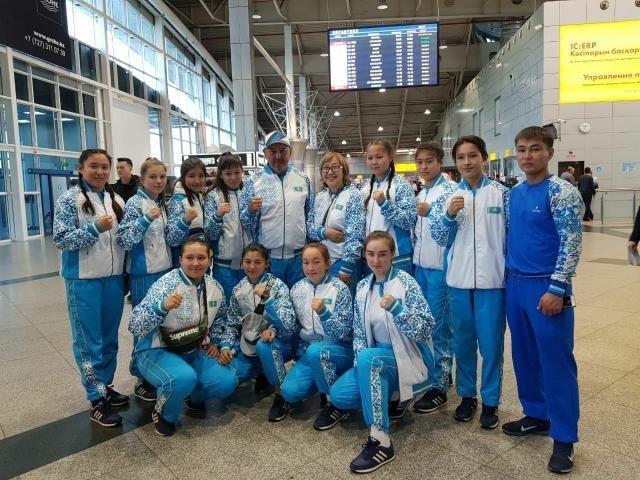 Женская Юниорская сборная отправилась на Чемпионат Азии