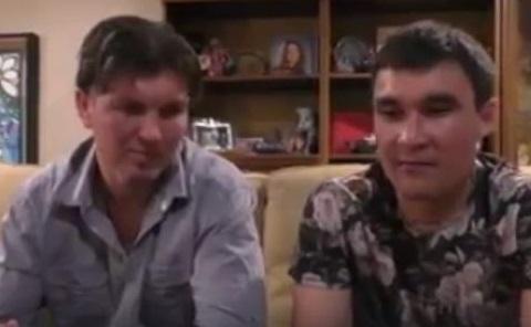 Жиров и Сапиев встретились в США и поздравили казахстанцев с майскими праздниками