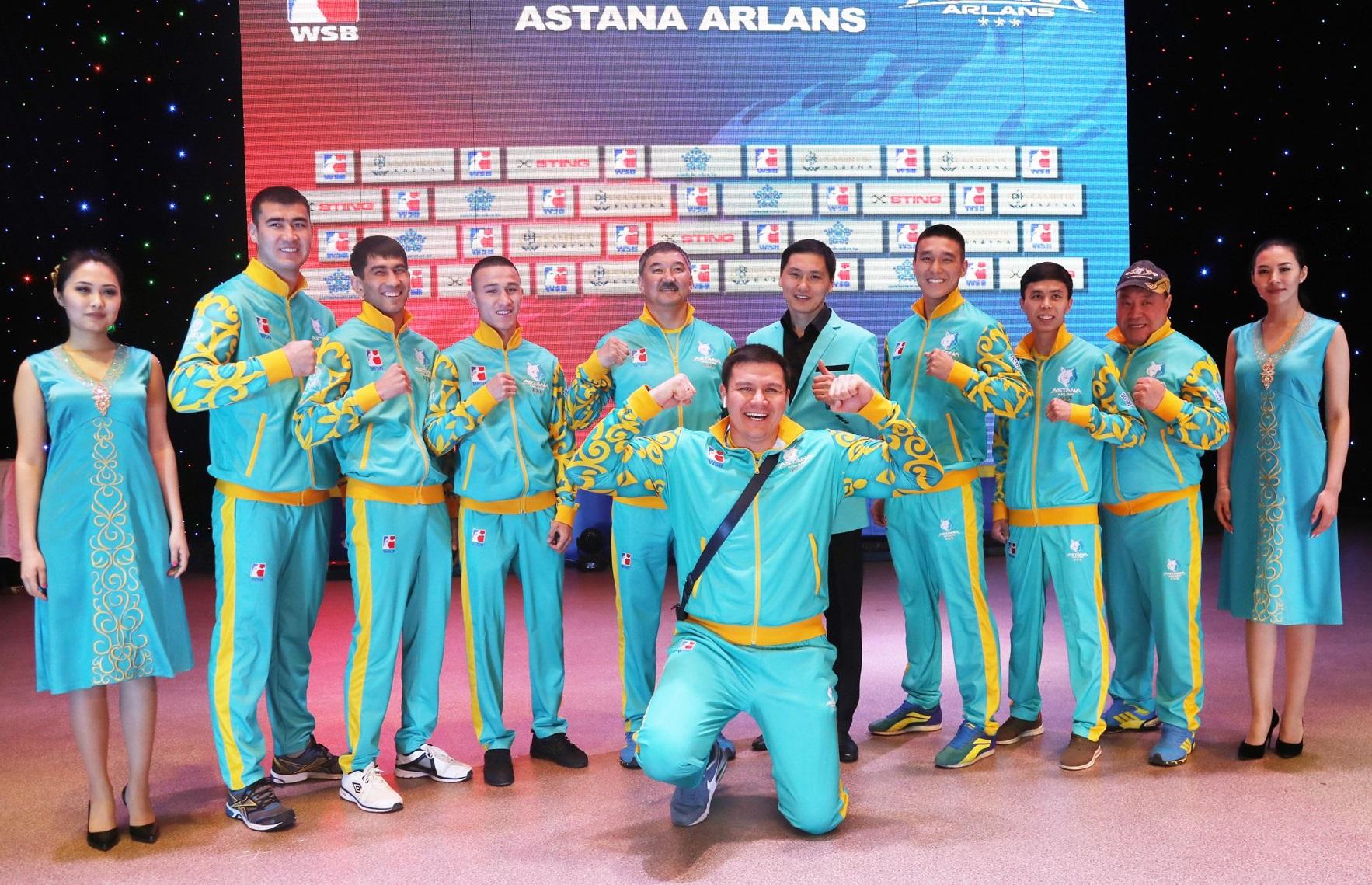 «Астана арландары» мен «British Lionhearts» командалары Шеффилдте кездеседі