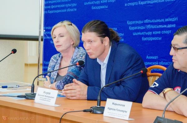 Василий Жиров побывал в Караганде