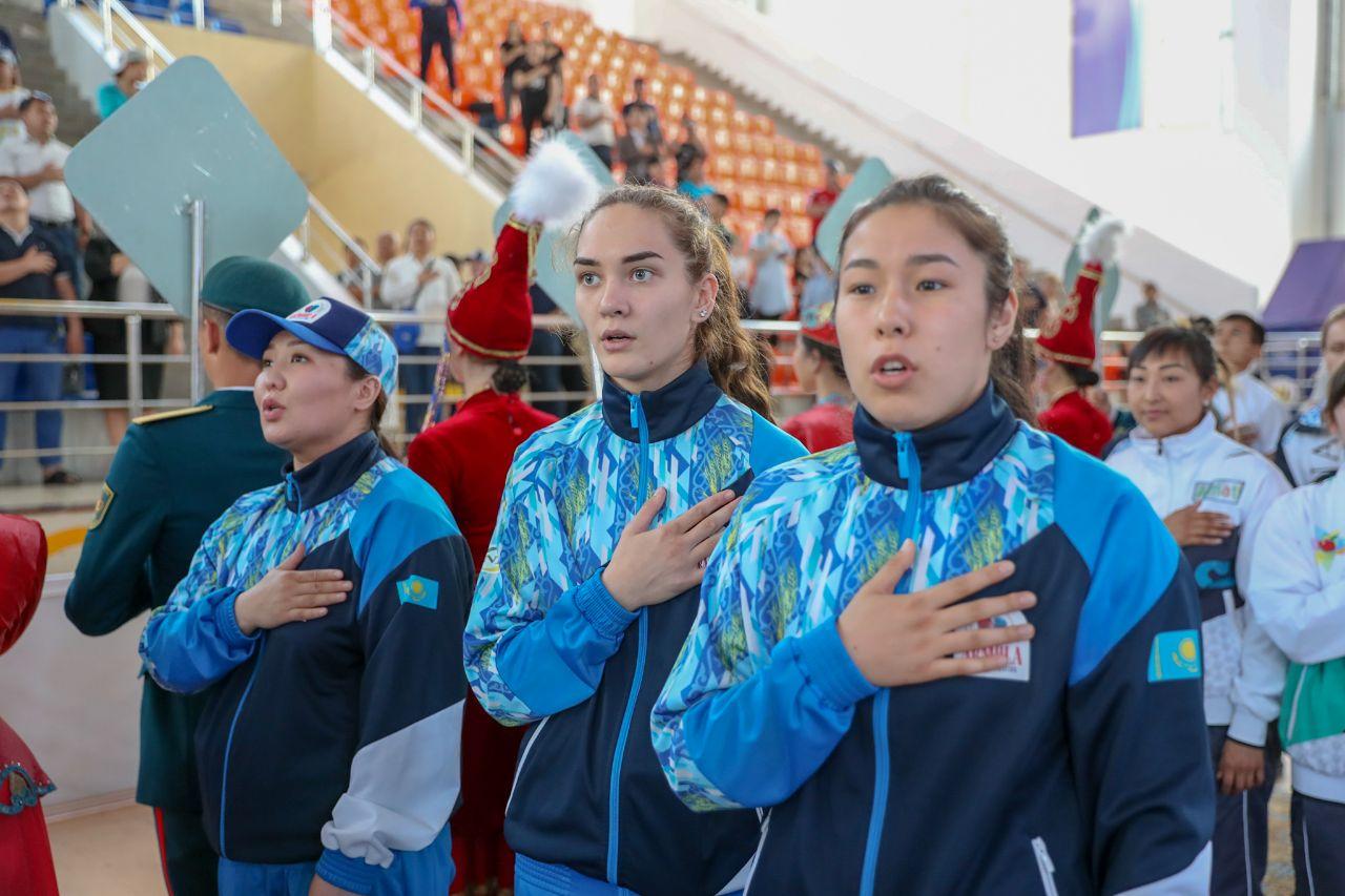 Фоторепортаж церемонии открытия Спартакиады Казахстана среди женщин