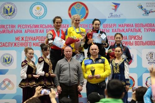 Названы чемпионки турнира Вольновой