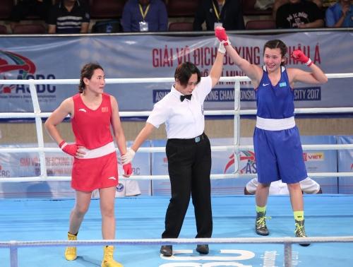Қазақ қызы бокстан Азия чемпионы атанды