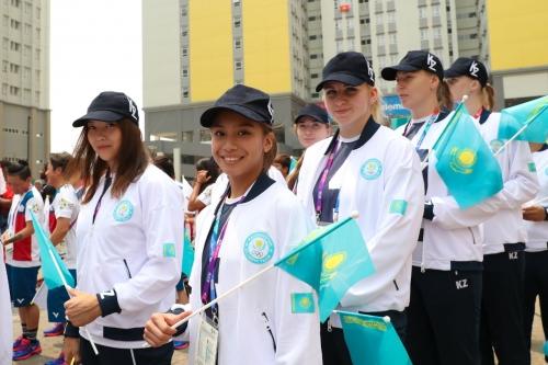 Азиада-2018: В Джакарте официально поднят флаг Казахстана