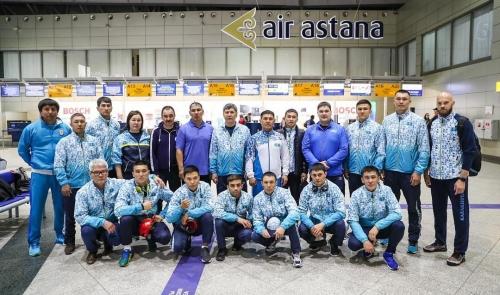 Национальная сборная команда РК прибыла в Таиланд для участия в чемпионате Азии