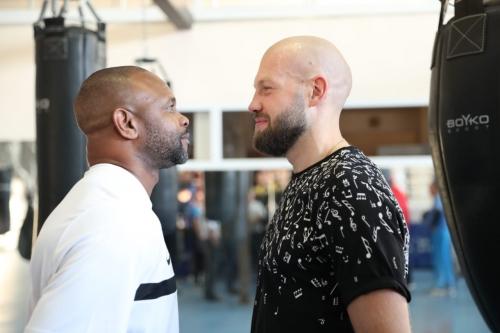 Рой Джонс встретился с национальной сборной РК по боксу