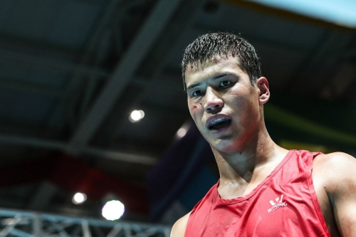 Aiboldy Daurenuly: «I have specific goals in amateur boxing»