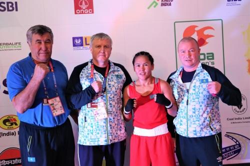 Пять казахстанских спортсменок вышли в четвертьфинал чемпионата мира