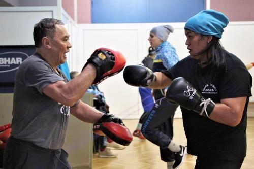 Фоторепортаж: тренировка женской сборной команды в Сербии
