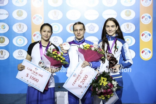 Kazakhstan boxers won 10 gold medals at the tournament in Astana