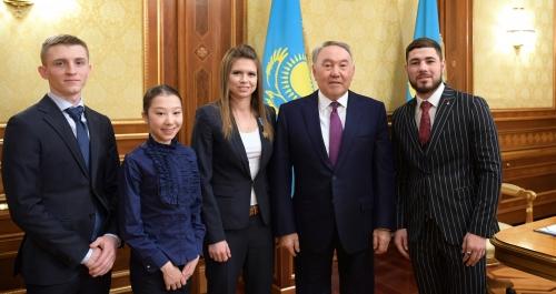 Глава государства принял казахстанских спортсменов