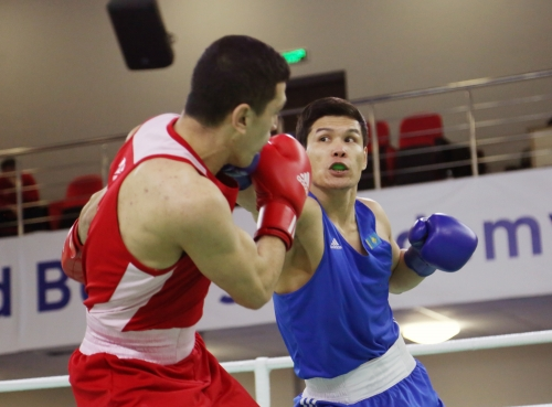 Daniyar Yeleusinov has carried out the first bouts after the Olympic Games