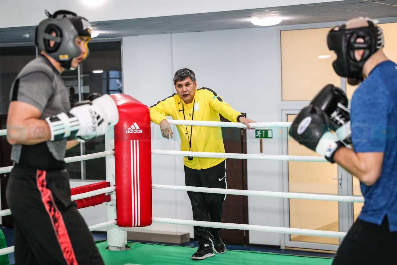 Галымбек Кенжебаев: «Боксеры должны повышать свое мастерство»