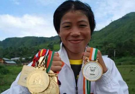 Әлемнің ең танымал бұрымды боксшысы Мэри Ком Азия чемпионатын сәтті бастады