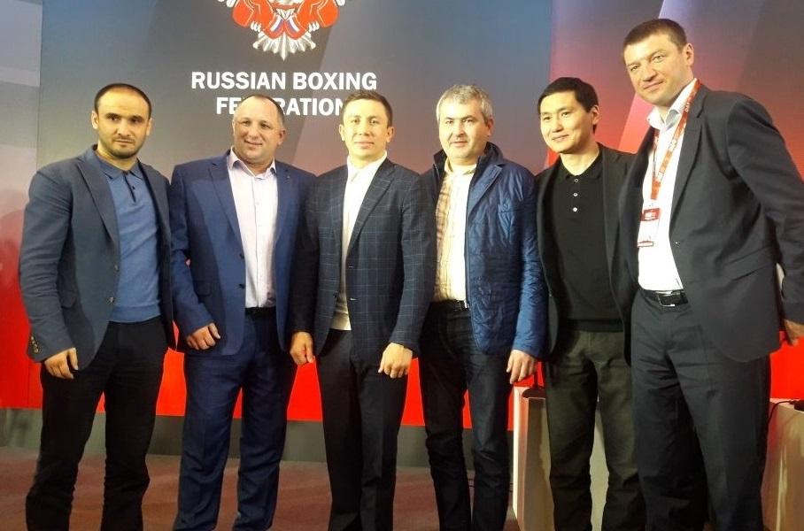 Головкин стал лицом Первого международного боксёрского форума в Сочи