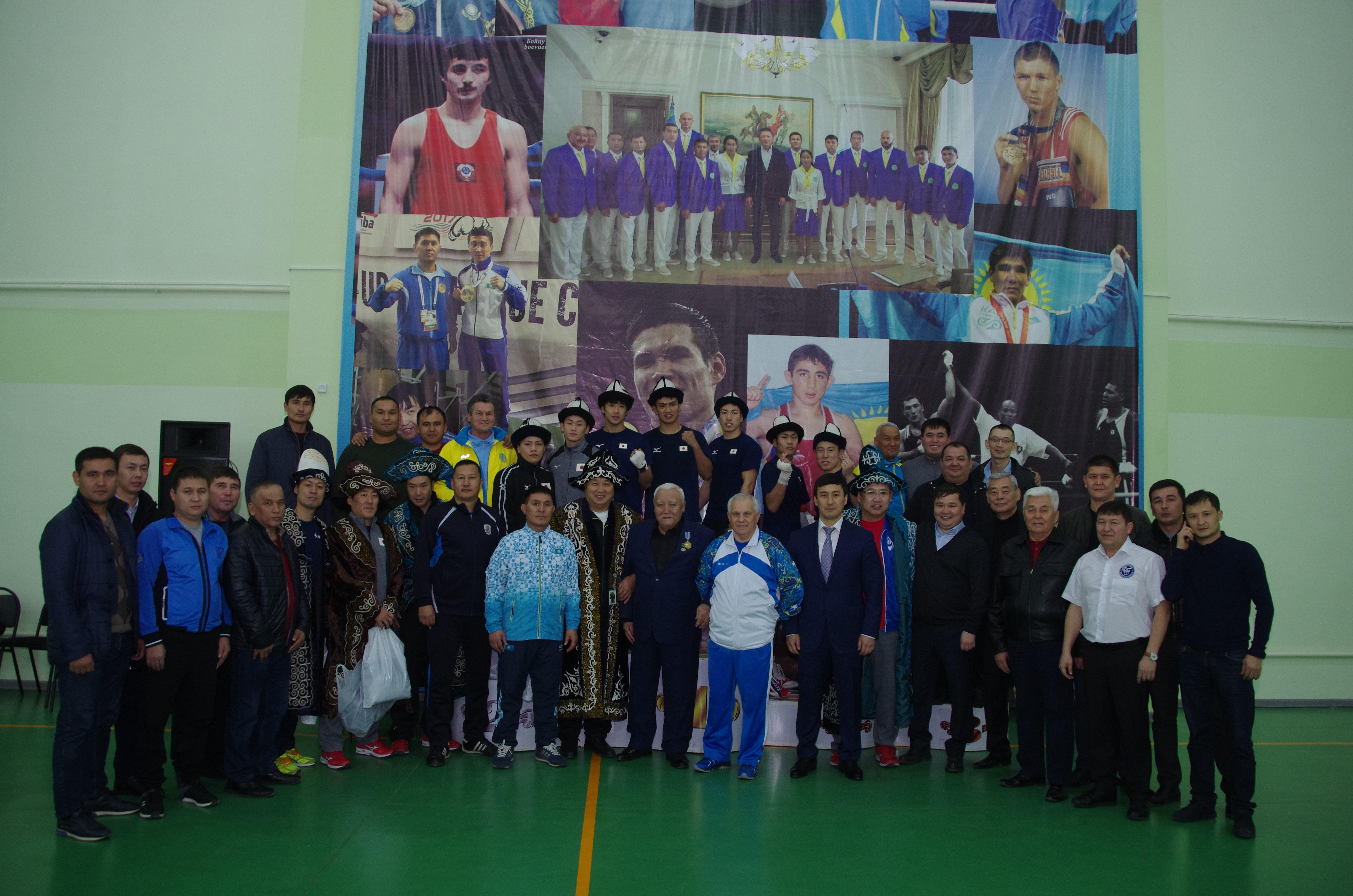 Сборная команда Японии провела тренировочные сборы в Шымкенте