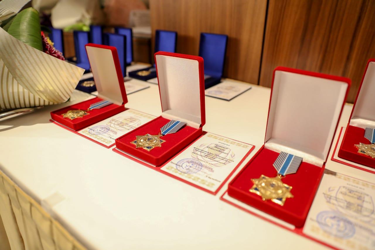 Церемония награждения ветеранов казахстанского бокса (видео)