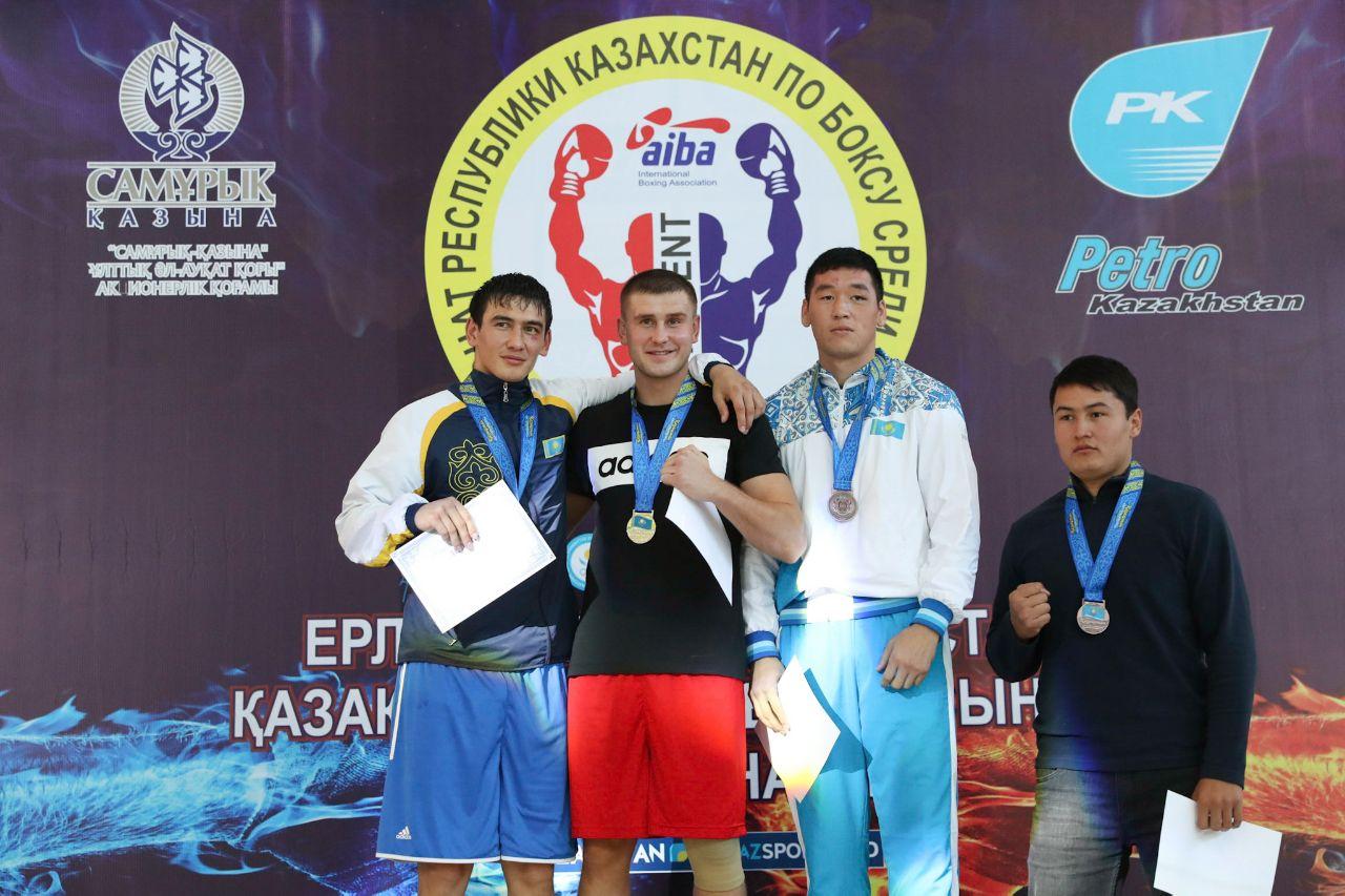 Названы чемпионы Казахстана по боксу 2017 года