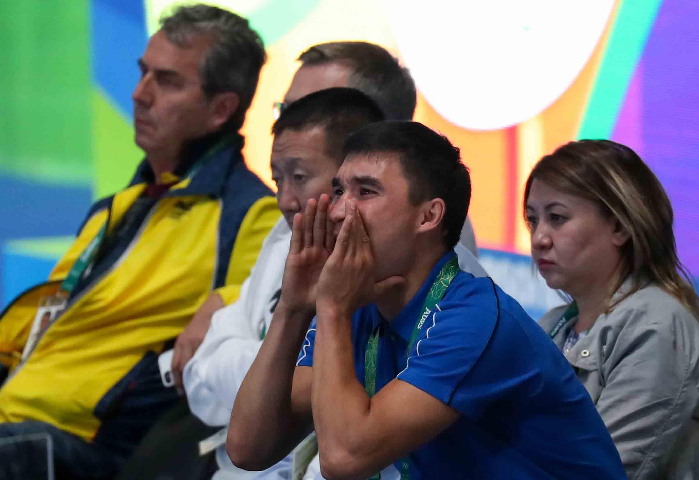 Сапиев провел тренировку со сборной Казахстана под руководством Айтжанова