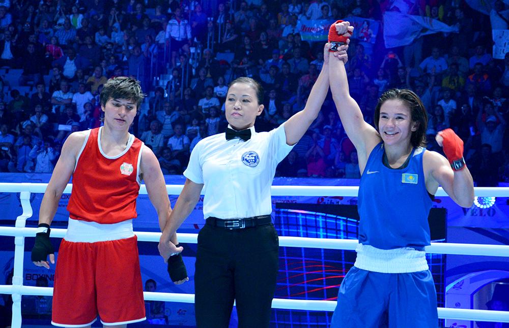 Как казахстанские девушки-боксеры выглядят на ринге и в жизни