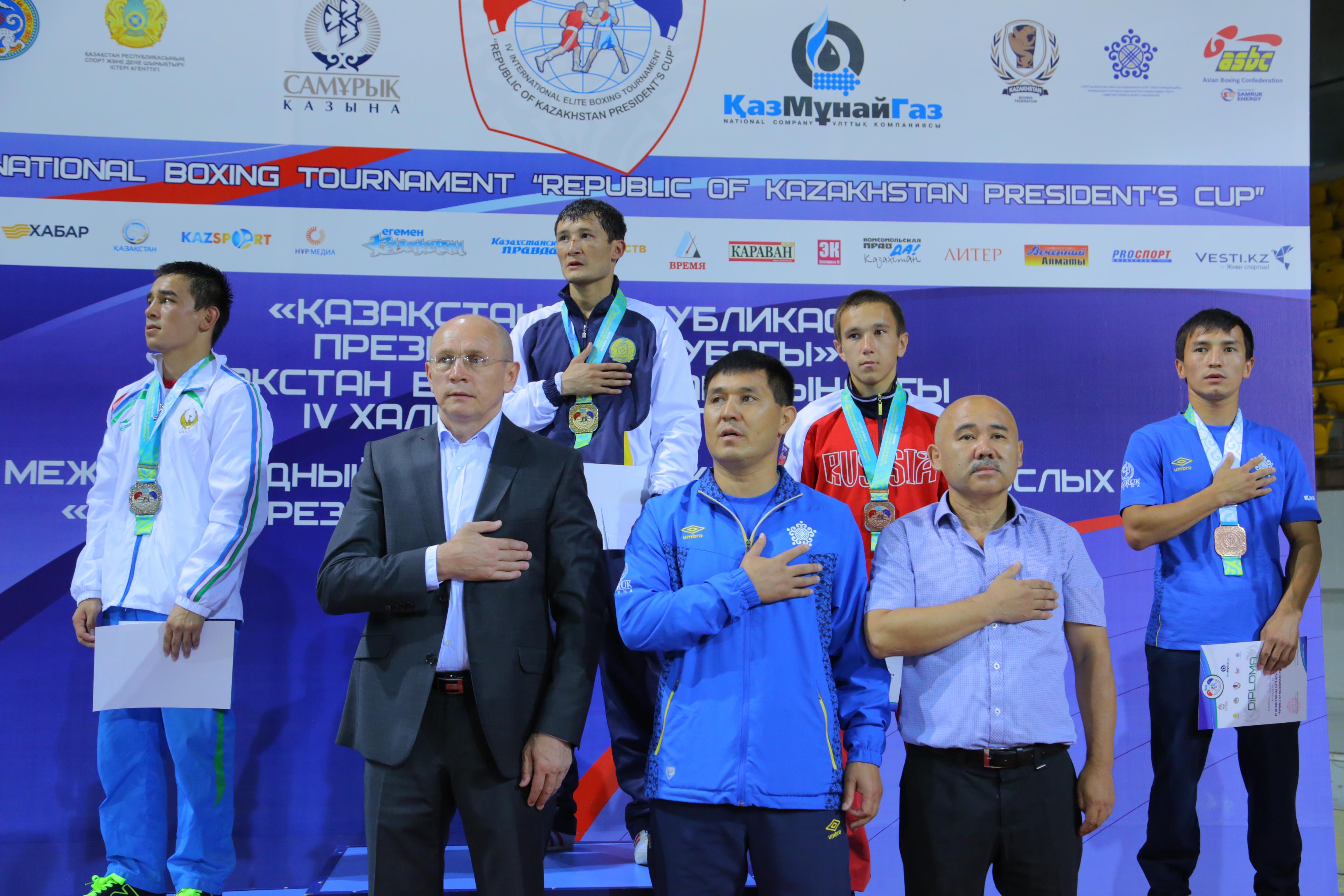 Казахстан выиграл Кубок Президента в четвертый раз подряд