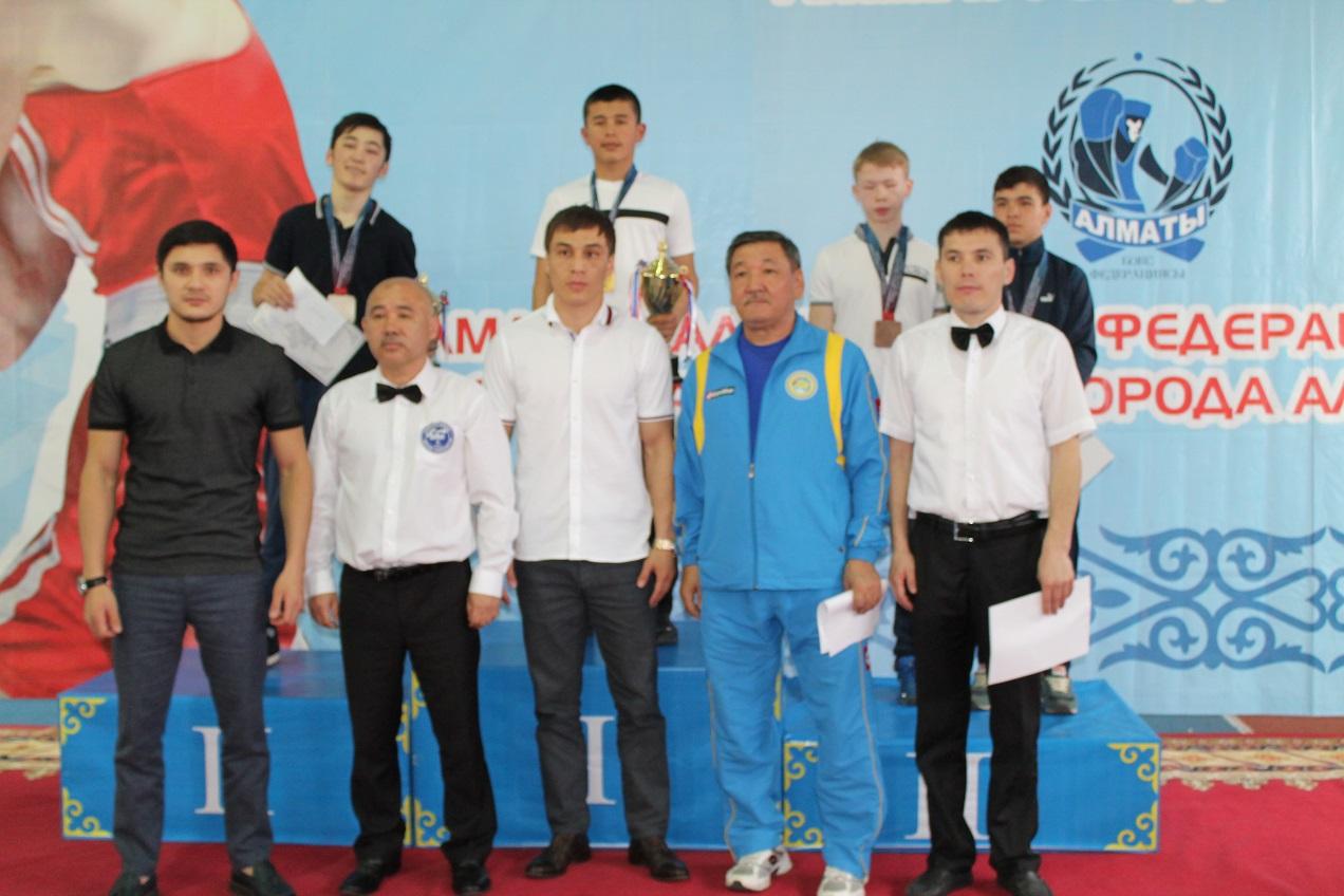 В Алматы завершился международный турнир на призы Амалбека Тшанова
