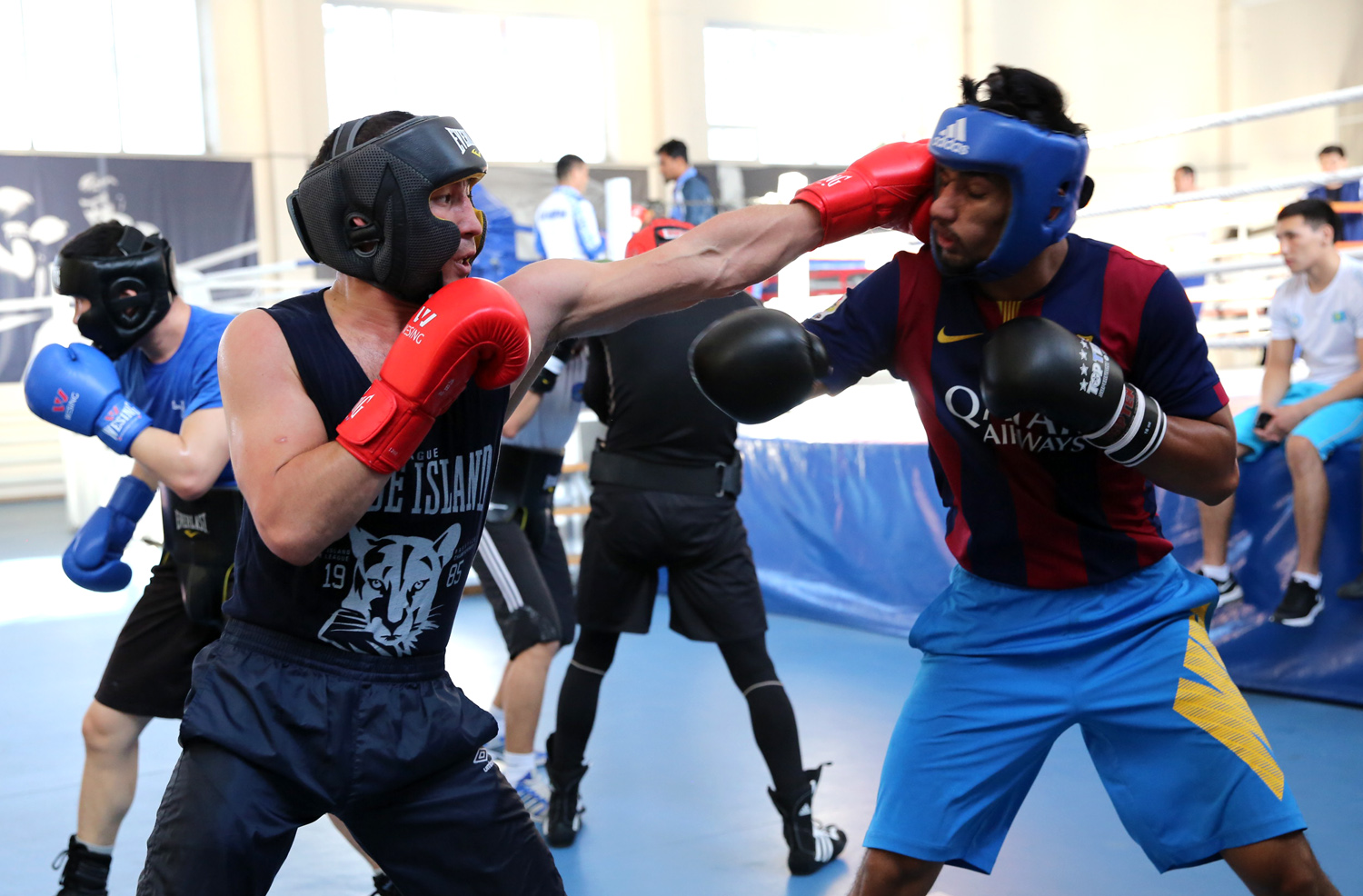 India joined to Kazakhstan to a common training camp in Astana before the ASBC Asian Confederation Boxing Championships