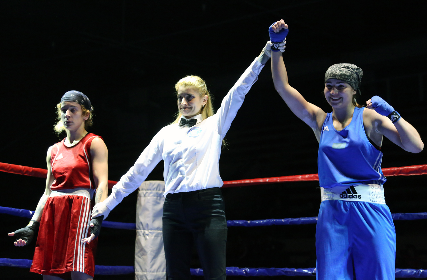 Kazakhstan women boxers achieved four victories on the first day of the Nations Cup