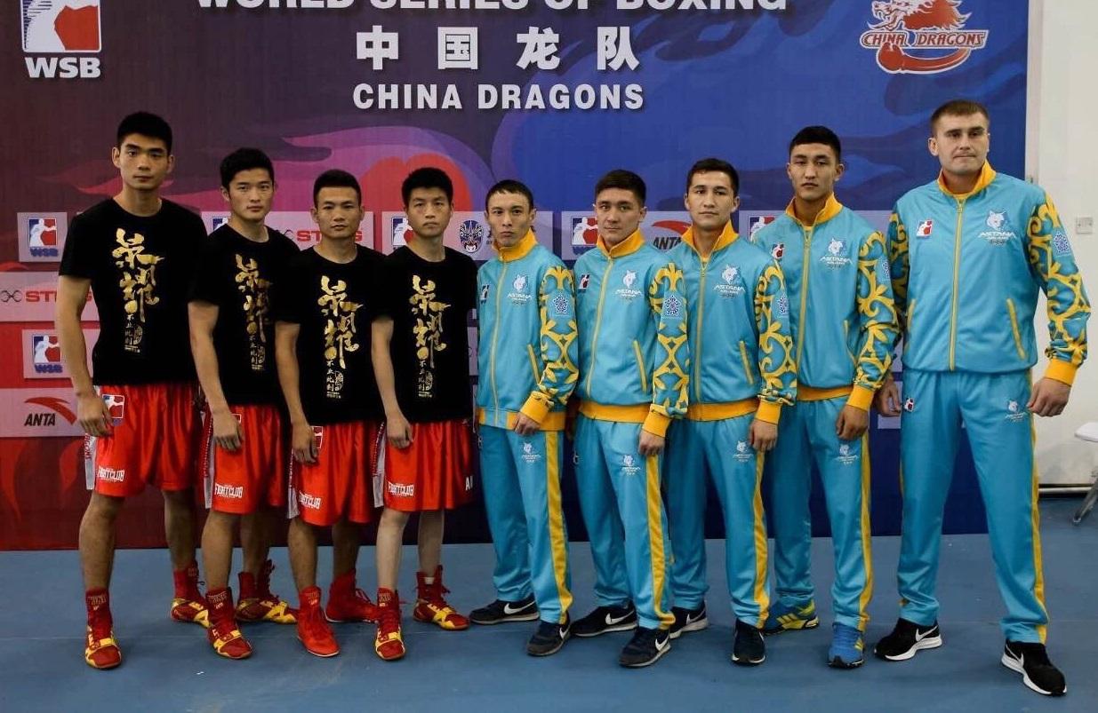 Боксеры «Астана Арланс» одержали победу в Китае
