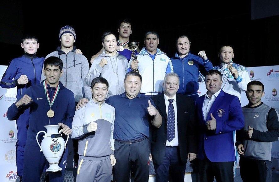 Қазақ боксшылары Венгриядағы халықаралық турнирдің жалпы есебінде бірінші орын алды