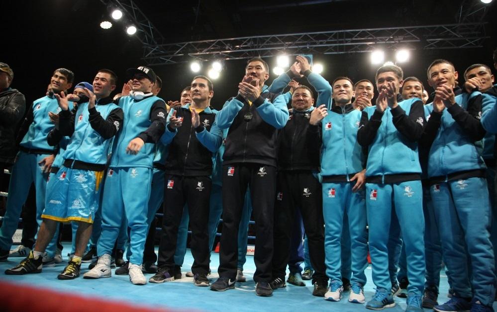 Казахстанская федерация бокса поздравляет «Astana Arlans» с третьей победой в WSB!