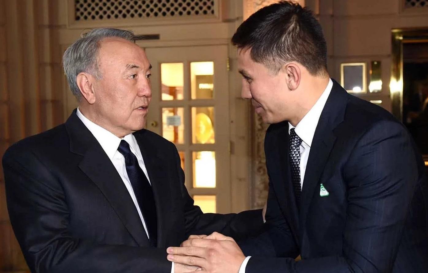 Мемлекет басшысы Нұрсұлтан Назарбаев Головкинді жеңісімен құттықтады