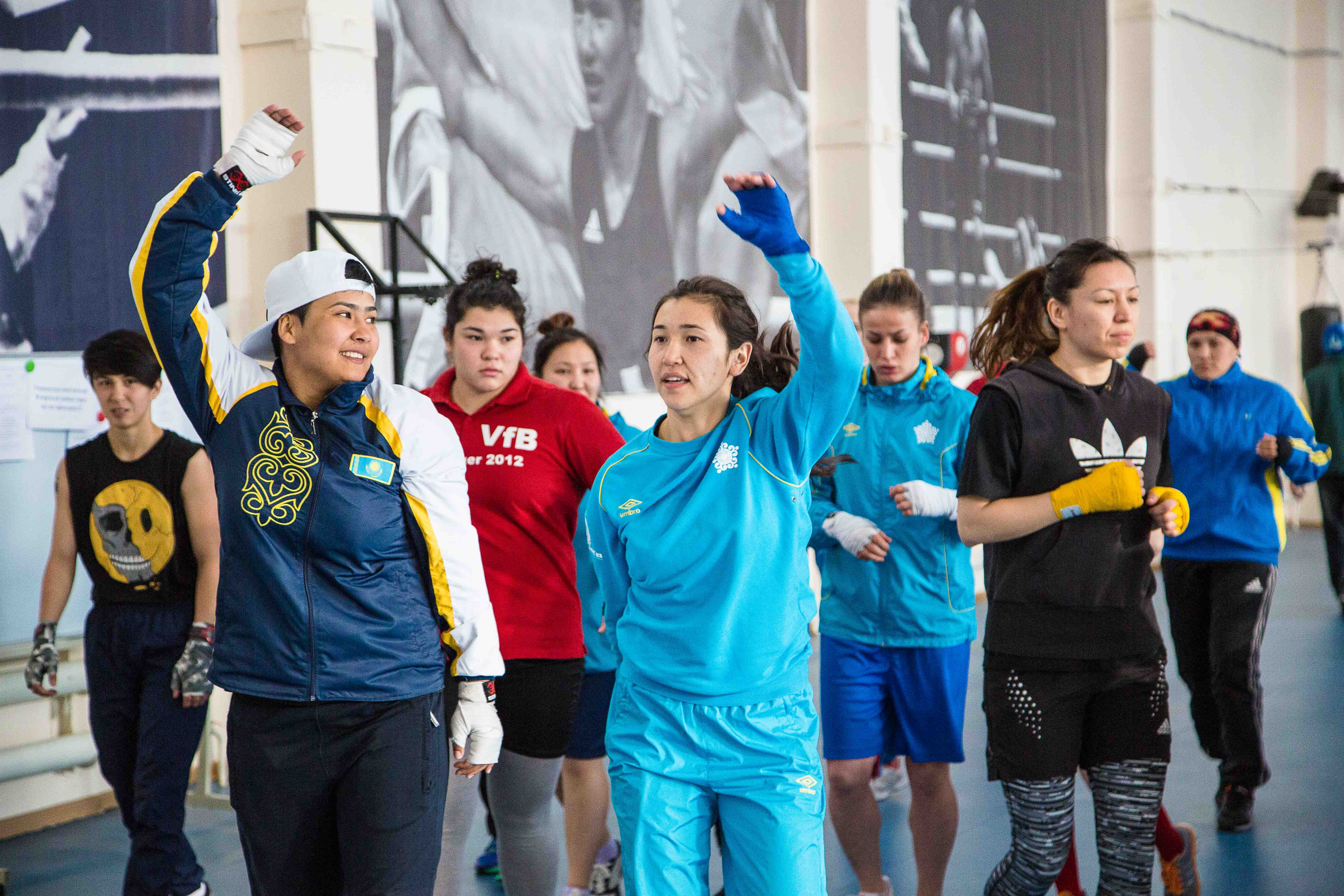 Kazakh female boxers to fight for medals in Vietnam