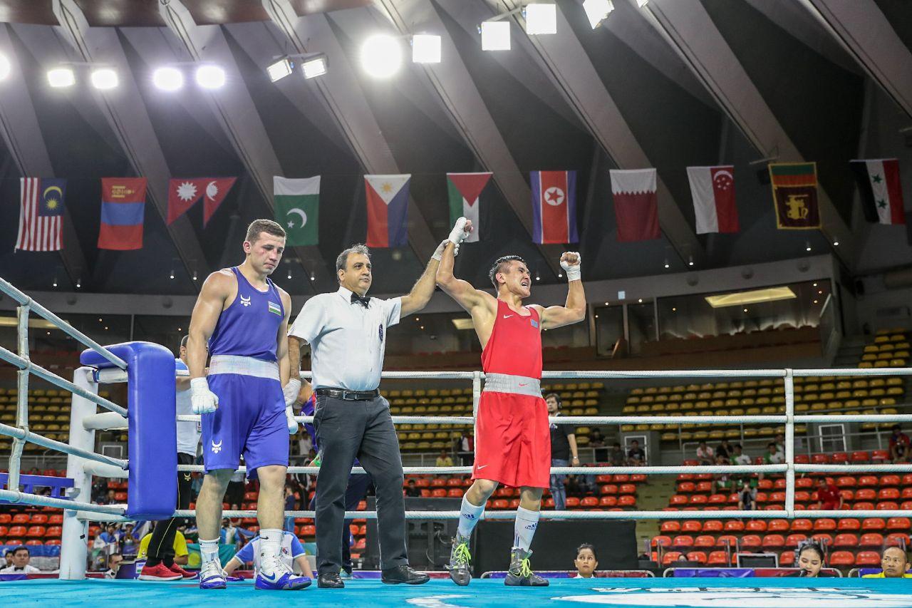 «Я начал первым». Казахстанский боксер прокомментировал победу над чемпионом Азиатских игр