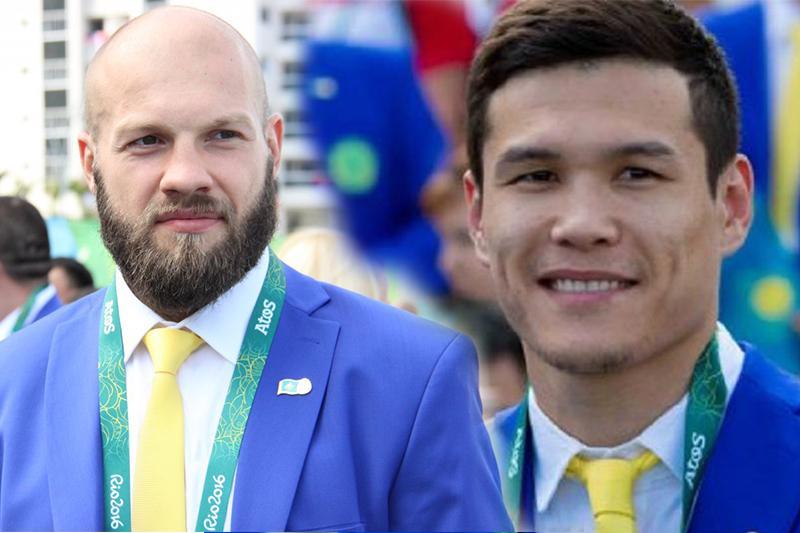Данияр Елеусинов и Василий Левит - в десятке самых сексуальных спортсменов страны