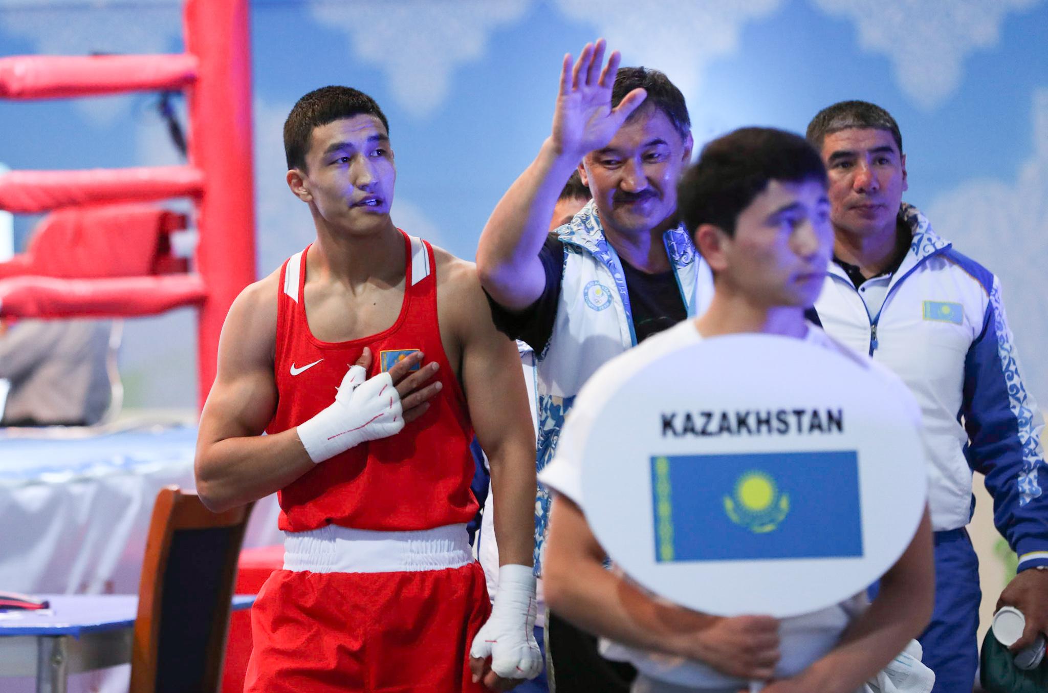 Абильхан Аманкул выбран лучшим боксером полуфинала WSB