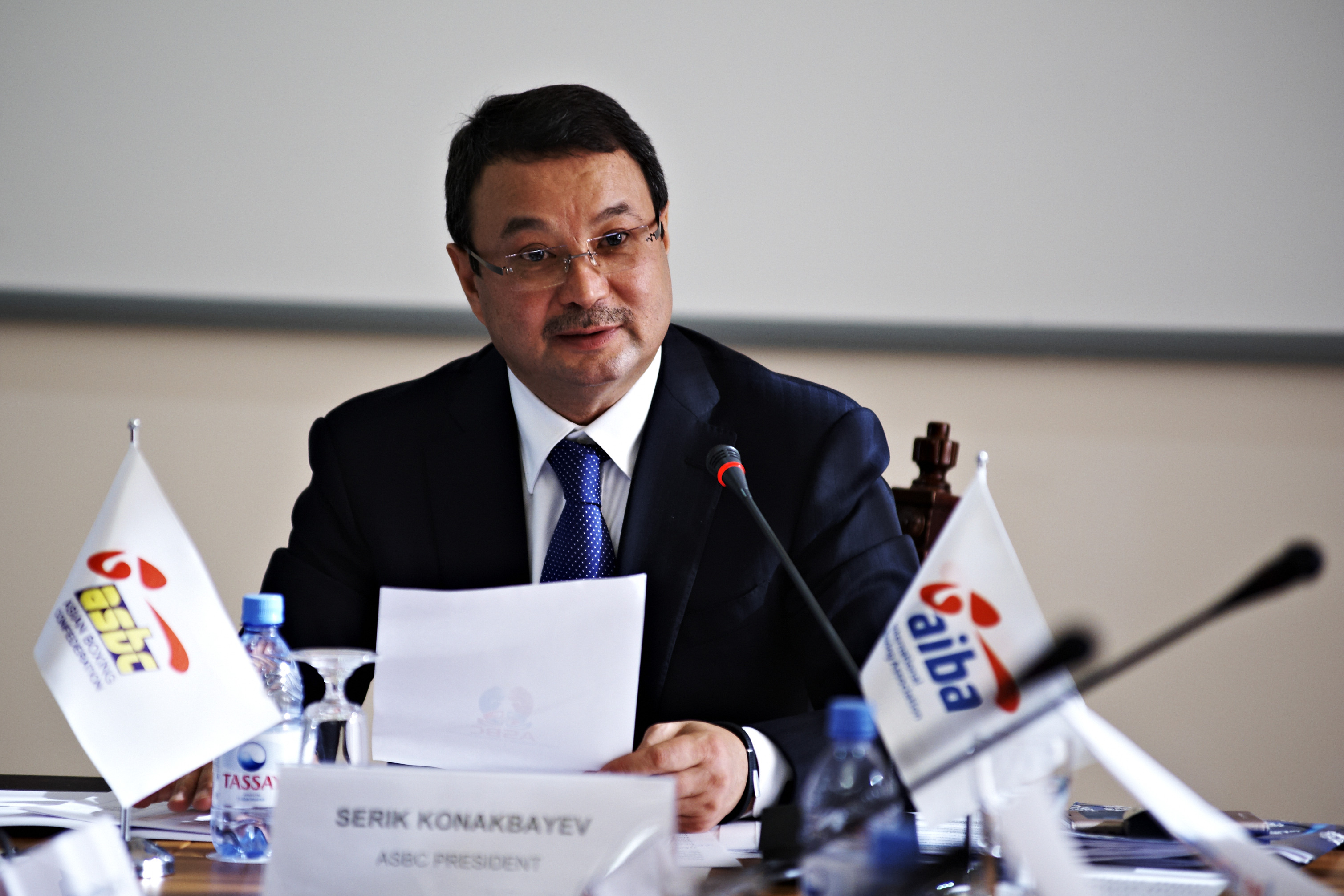 Mr. Serik Konakbayev – I am so grateful to the hard work and the strong commitment of the National Federations