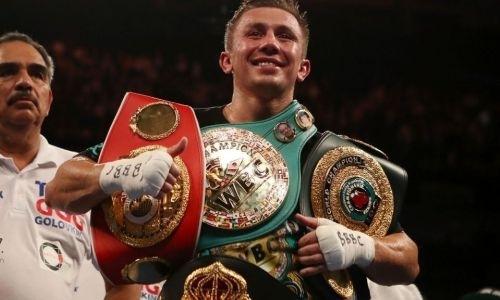 Головкин стал вторым в рейтинге самых высокооплачиваемых боксеров мира