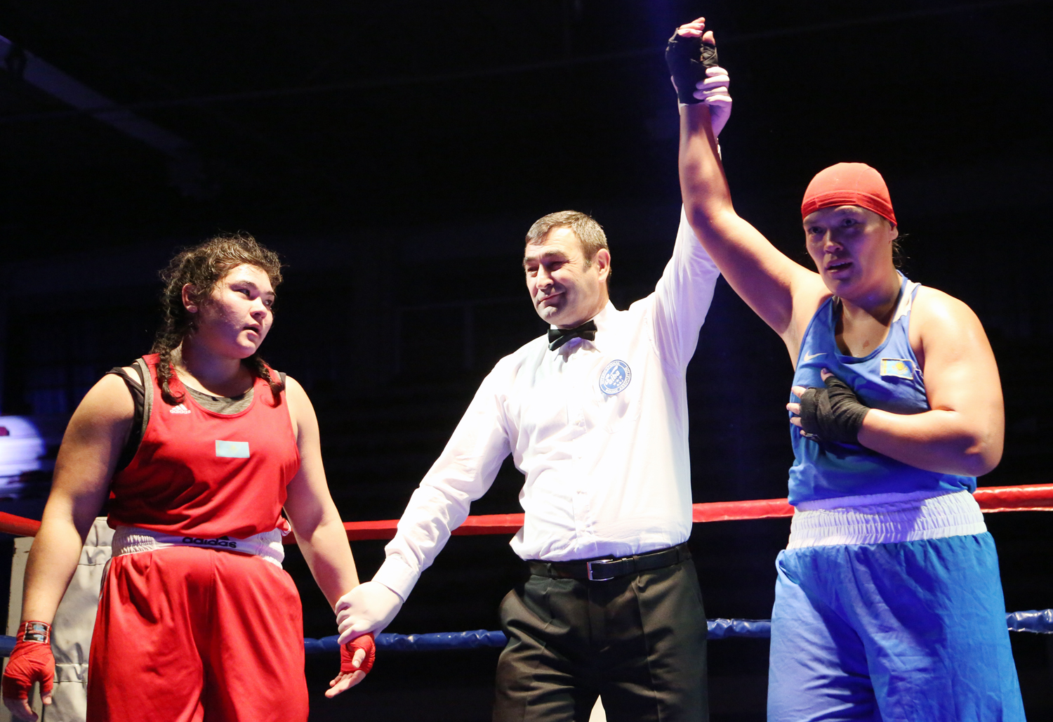 World Champions and Asian Games finalist from Kazakhstan won their fights at the Nations Cup