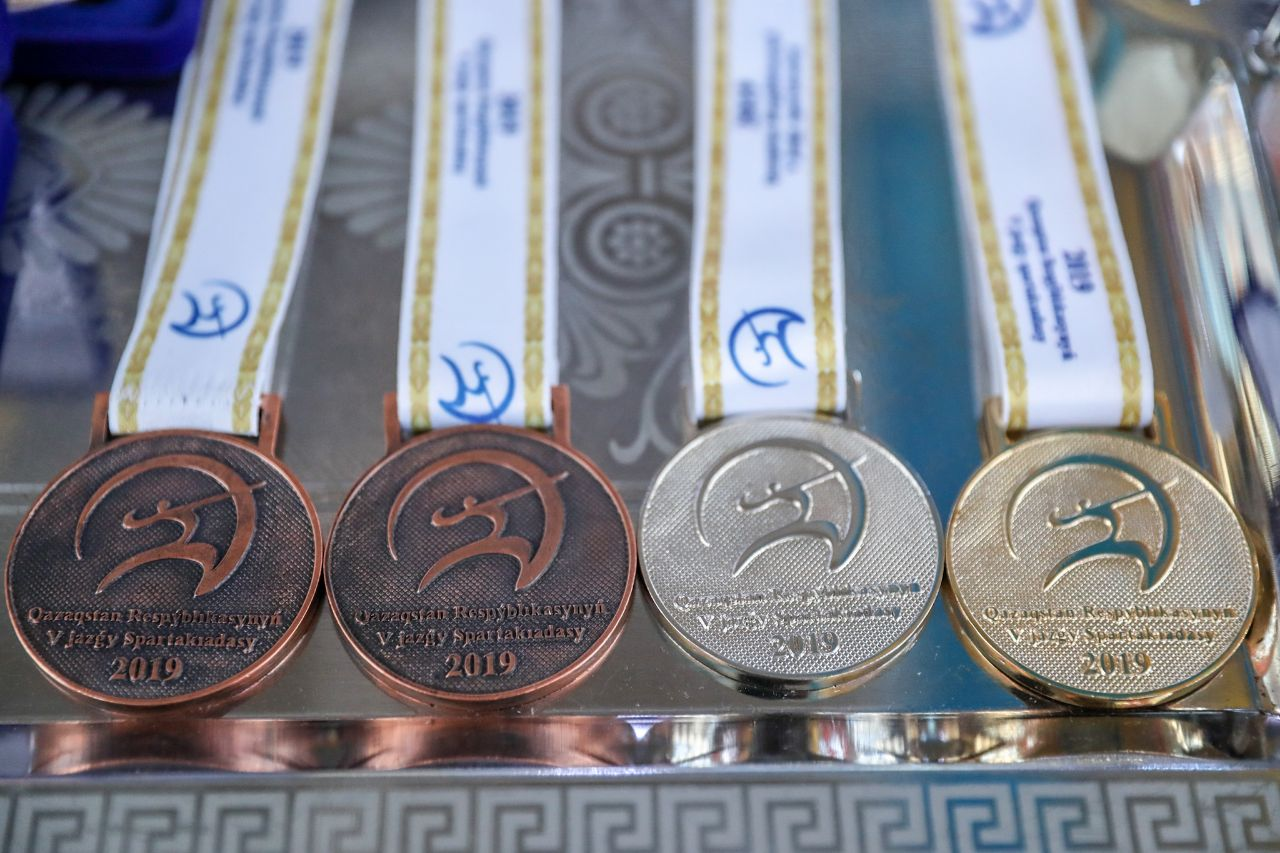 Прямая трансляция Спартакиады Казахстана среди женщин