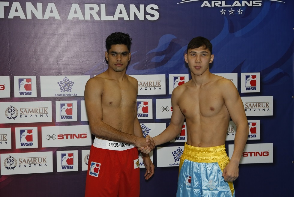 «Astana Arlans» қатарында боксшы алмасты