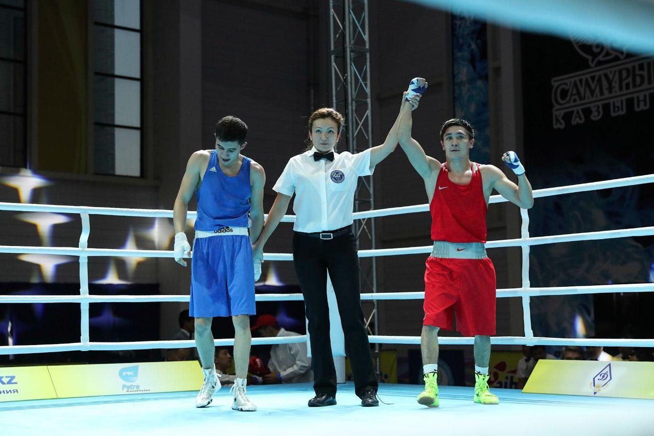 В Шымкенте определились первые полуфиналисты чемпионата Казахстана