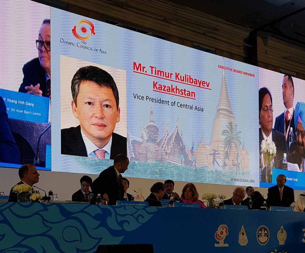 Глава НОК РК переизбран Вице-президентом Олимпийского Совета Азии