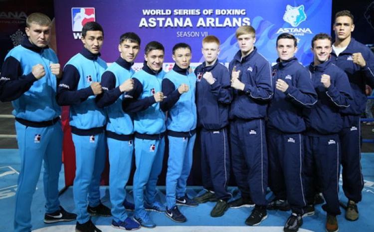 Боксеры «Астана Арланс» одержали свою очередную победу в WSB