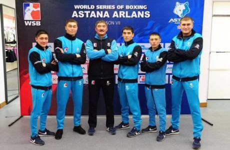 Состав «Uzbek Tigers» на матч WSB с «Astana Arlans»